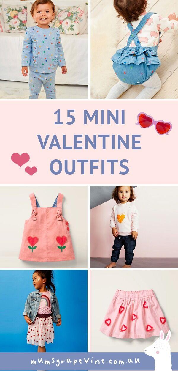 Valentine's Day children's outfits 2020