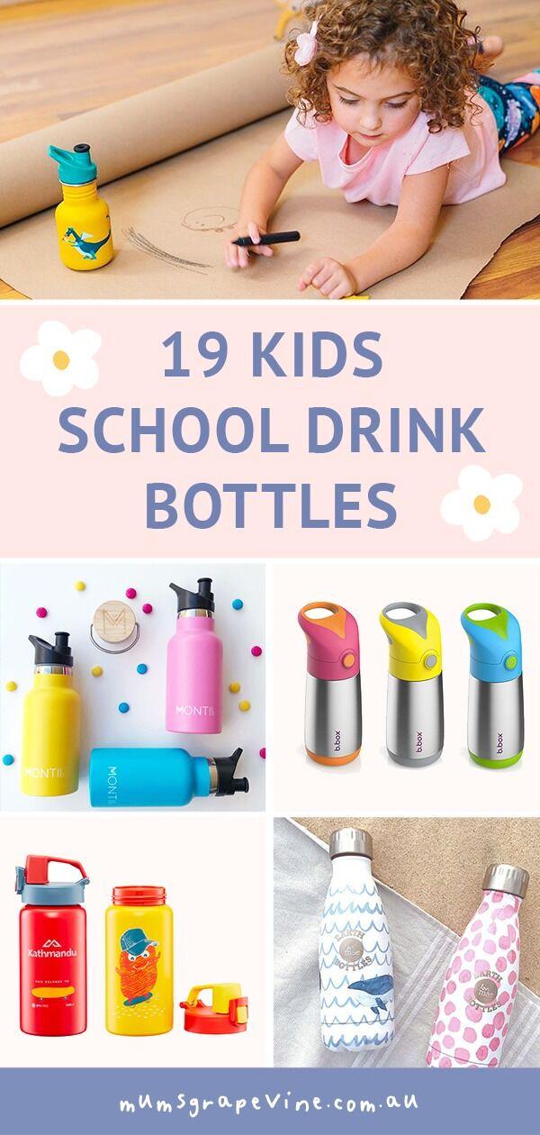 19 kids drink bottles that don't leak