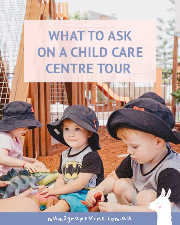42 Questions: What to ask a child care centre | Mum's Grapevine