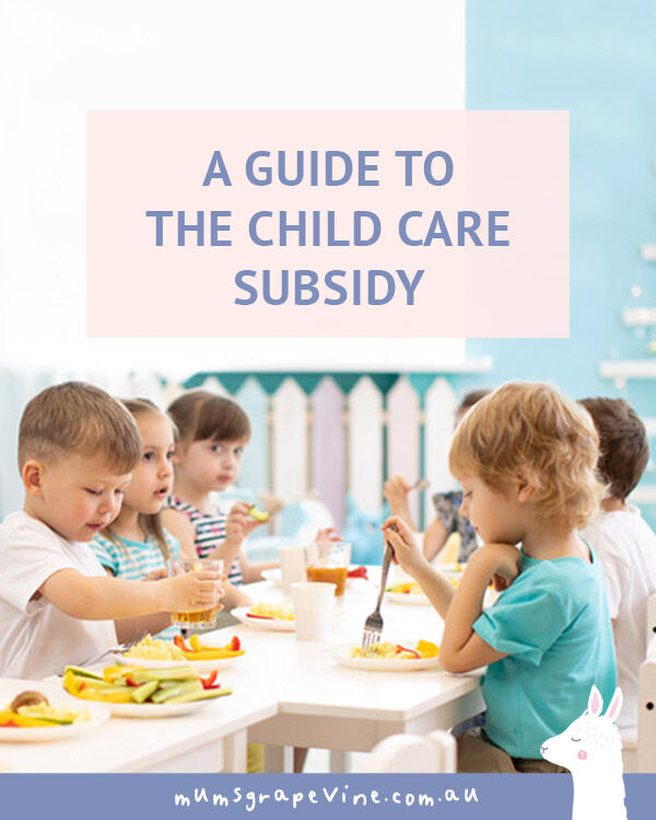 A helpful guide to the Child Care Subsidy