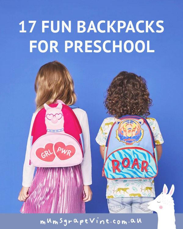 17 toddler backpacks for preschool | Mum's Grapevine