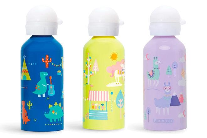 Penny Scallon kids drink bottles