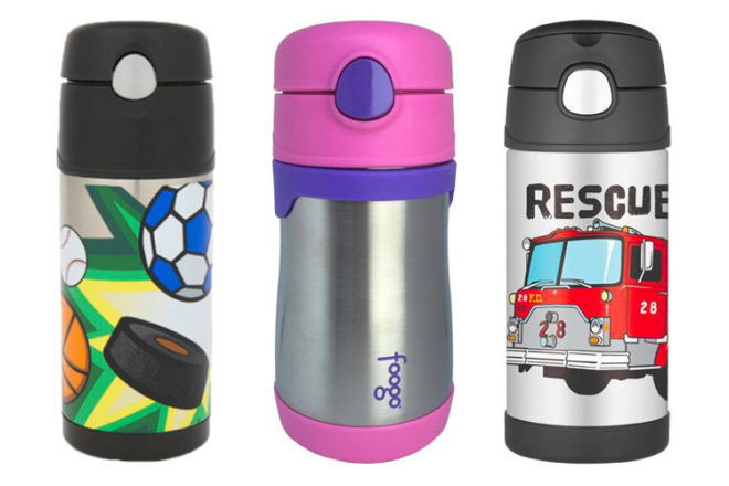Thermos stainless steel water bottles