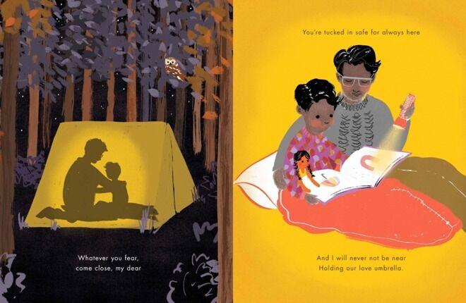 Children's book, Under the Love Umbrella