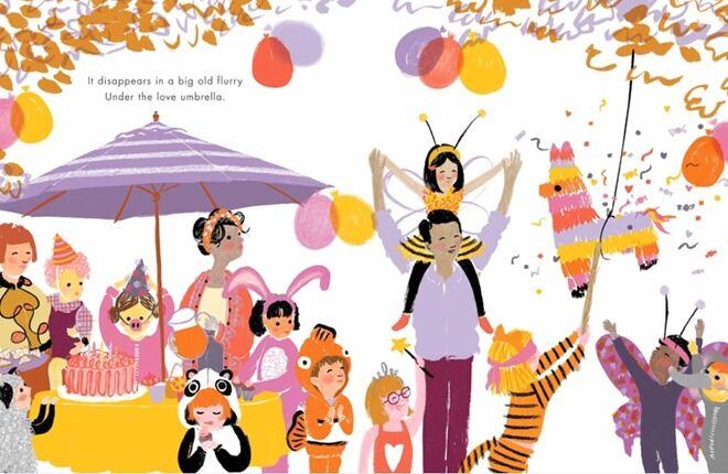 Under the Love Umbrella children's book