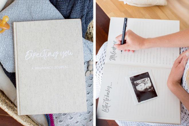 Vanda Baby Expecting You pregnancy journal