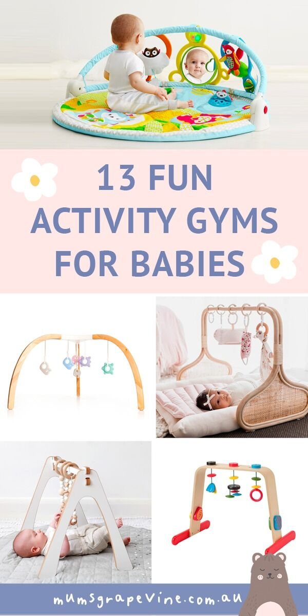 13 best baby activity gyms