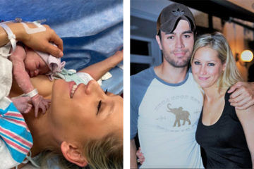 Anna Kournikova and Enrique Iglesias baby three