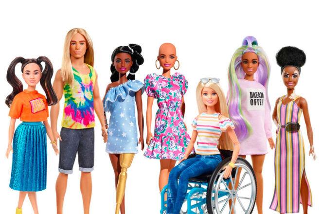 Barbie diversity dolls
