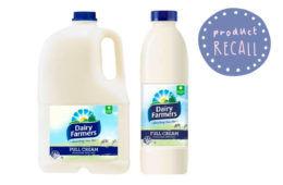 Milk recalled