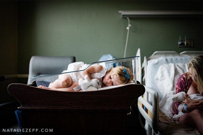 Denial birth photo