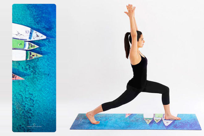 Gili T Boats Yoga Mat