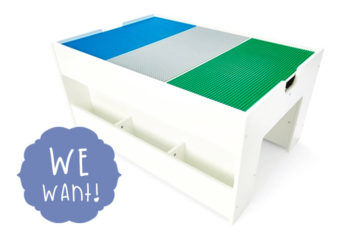 Kmart Construction Table Playset with Storage