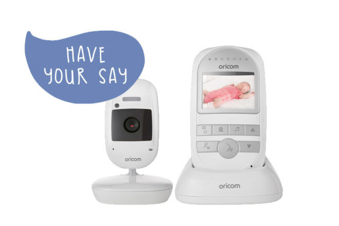 Product testers wanted for Oricom SC720 baby monitor