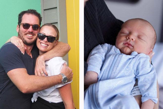 Sylvia Jeffreys Peter Stefanovic baby boy