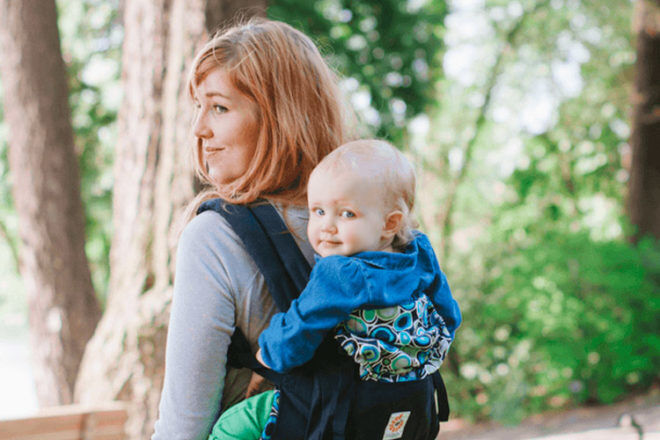 A handy guide to babywearing during pregnancy | Mum's Grapevine