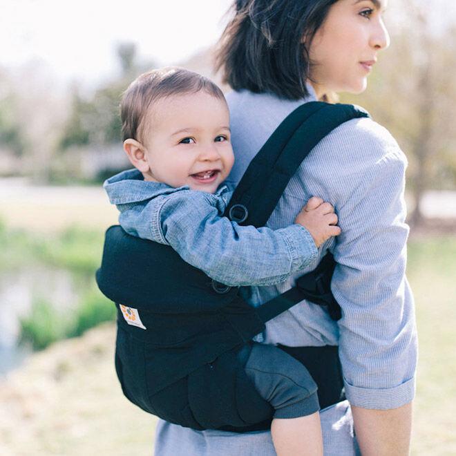 Babywearing during the third trimester