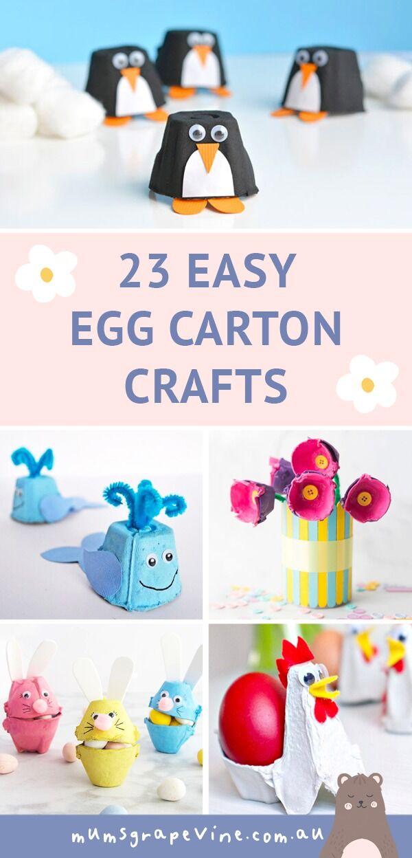 23 Easy Egg Carton Crafts for Kids   Mum's Grapevine