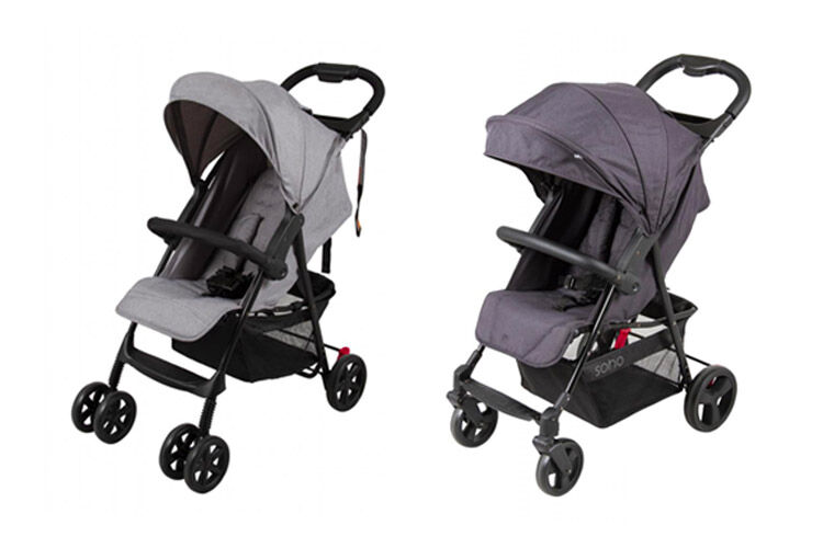 Childcare stroller recall