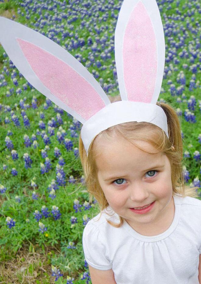 Free Printable Bunny Ears by I Heart Naptime