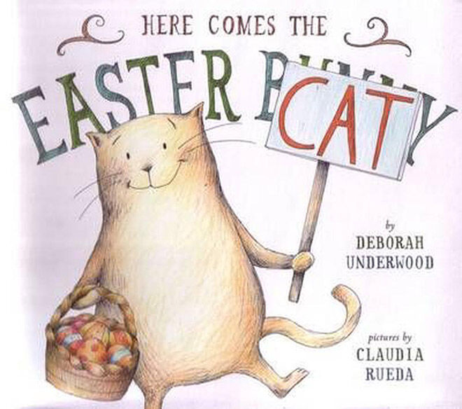 Here Comes the Easter Cat picture book
