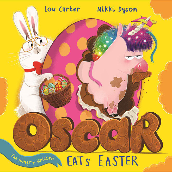 Oscar the Hungry Unicorn Eats Easter picture book