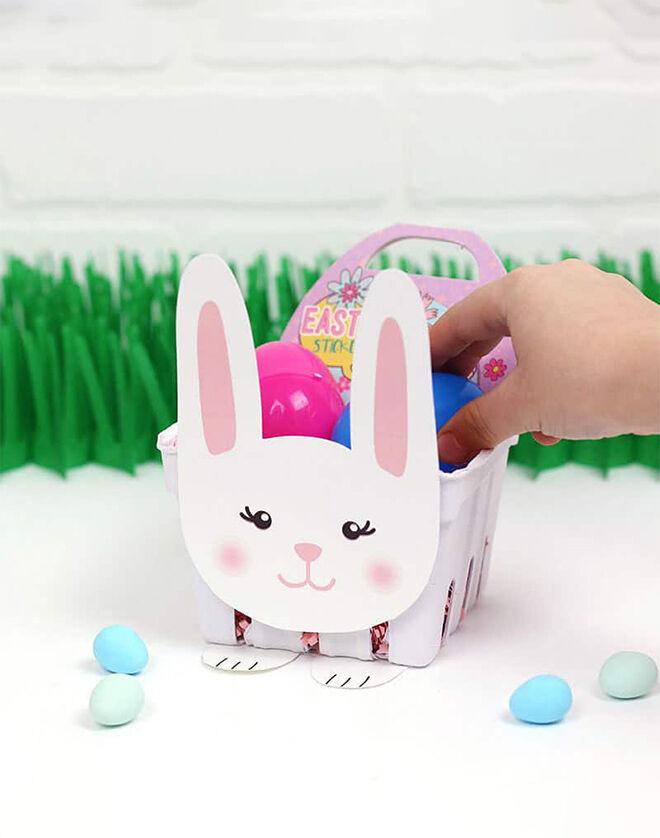 Bunny Basket Printables by Persia Lou