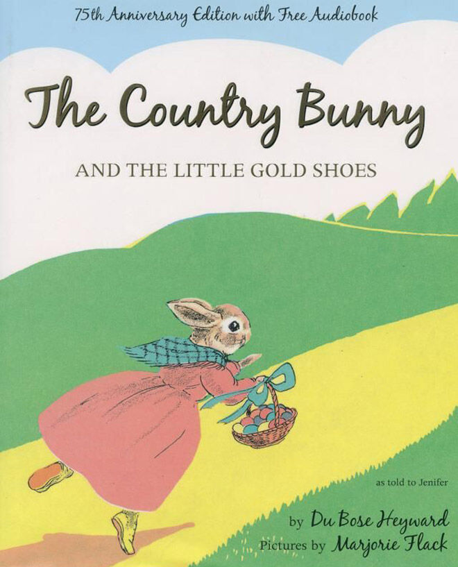 The Country Bunny and the Little Gold Shoes picture book