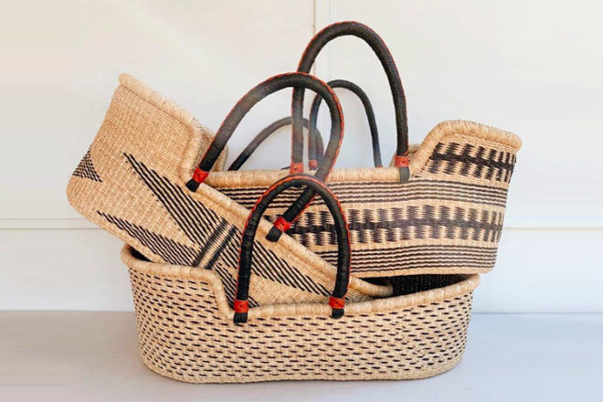 Best Moses Baskets: Adinkra Designs