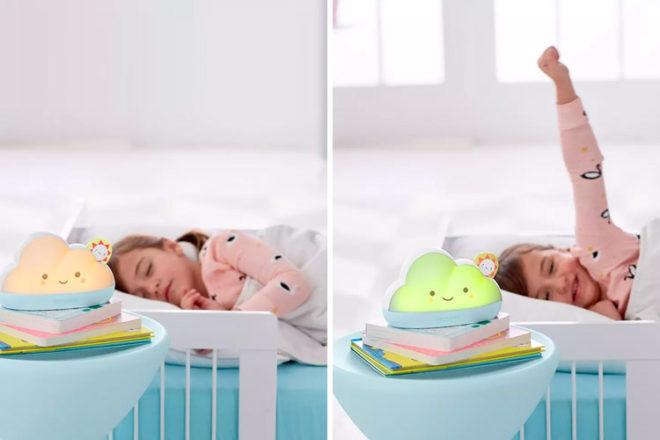 Best Sleep Training Clock: Skip Hop Dream and Shine Sleep Trainer