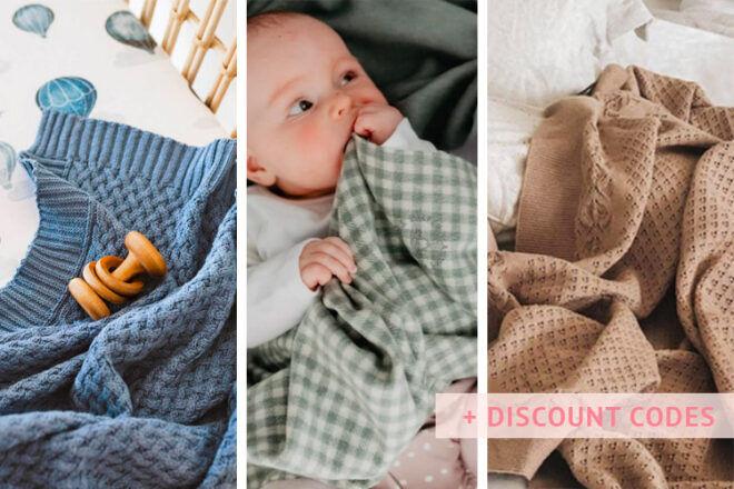 Best baby blankets in Australia | Mum's Grapevine