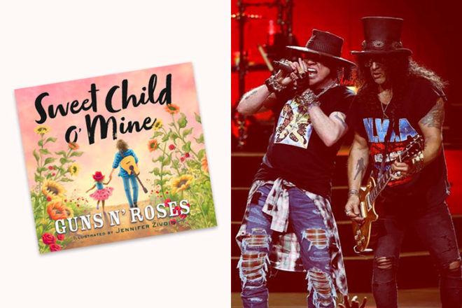 Guns N Roses Sweet Child o Mine childrens book
