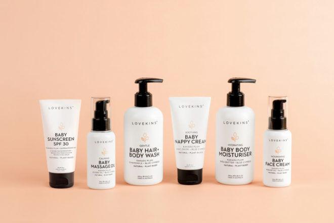 Lovekins Natural and Organic Baby Skincare