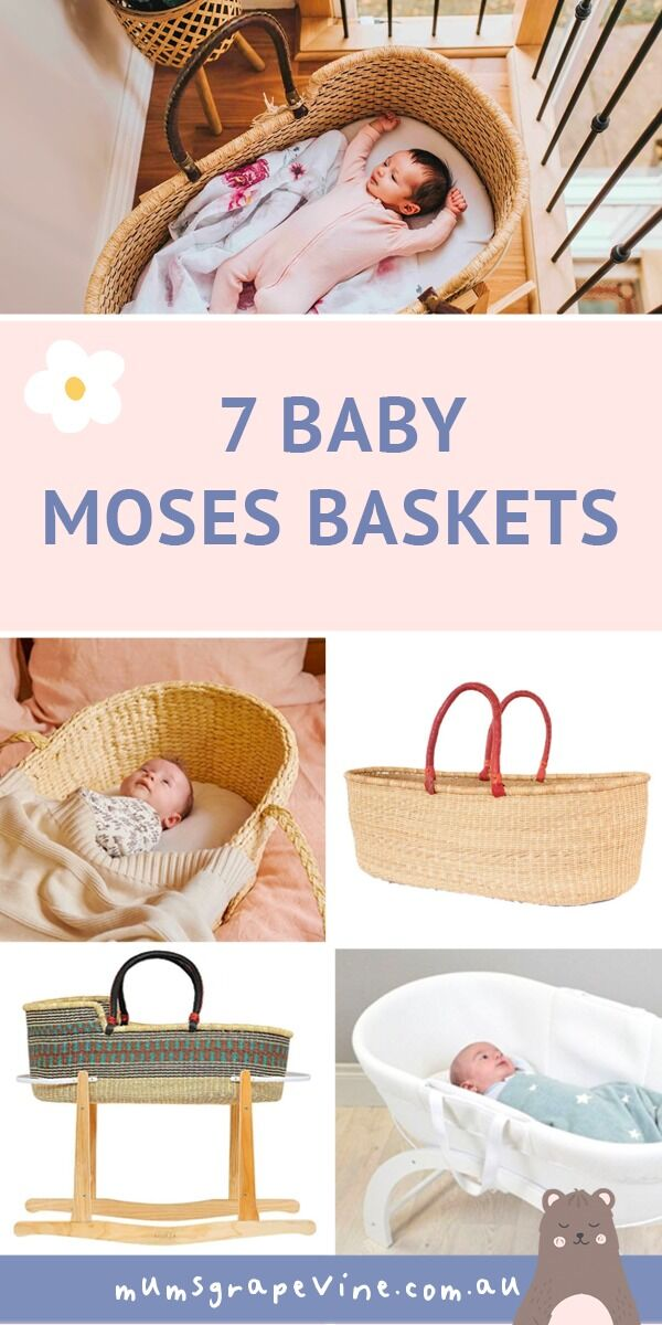 7 best baby Moses Baskets | Mum's Grapevine