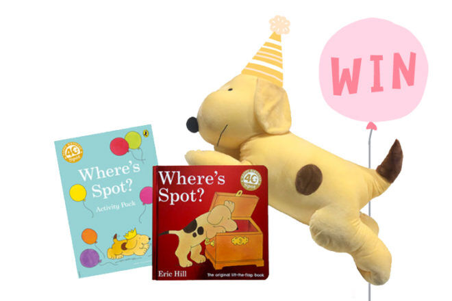 Where's Spot 40th Anniversary Prize Pack