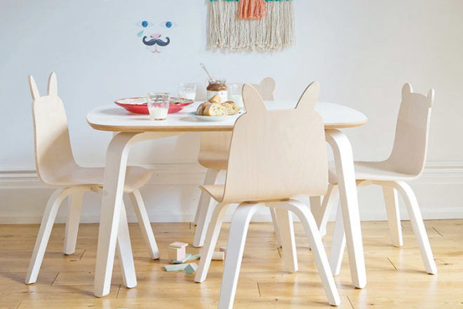 Best Kids Table and Chairs: Oeuf