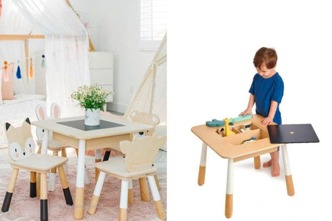 Best Kids Table & Chairs: Tender Leaf Toys
