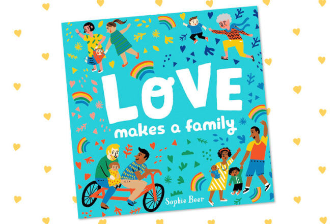 Book Review: Love Makes a Family by Sophie Beer