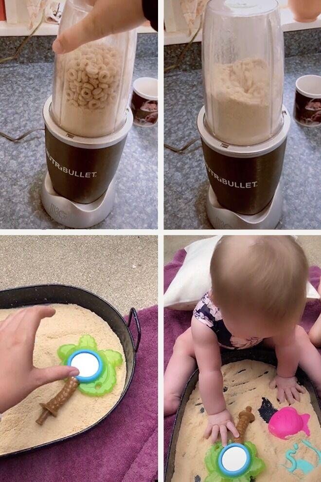 How to make edible sand
