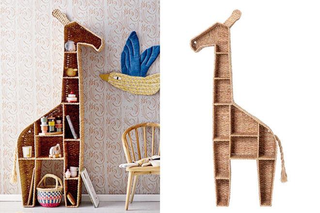 Best Kids Bookshelf: Bloomingville Mini Giraffe Bookshelf