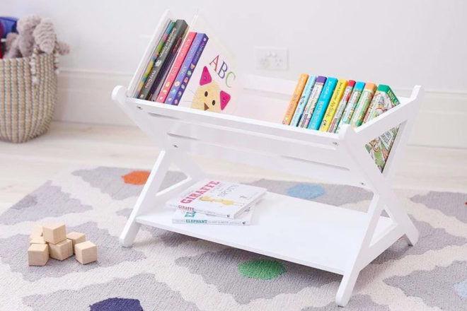 Best Kids Bookshelf: Hip Kids Monti Book Rack