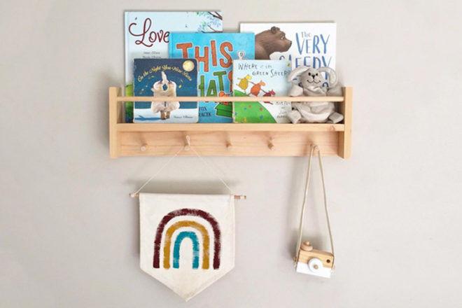 Best Kids Bookshelf: Little Pine Kids Combo Shelf