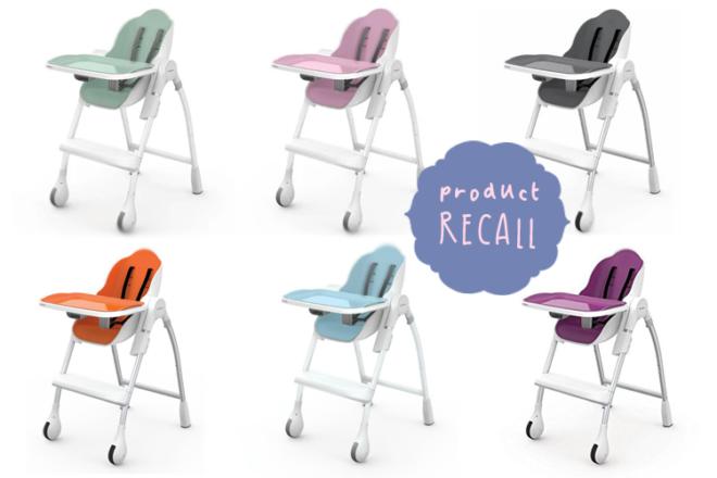 Oribel Cocoon High Chair recall
