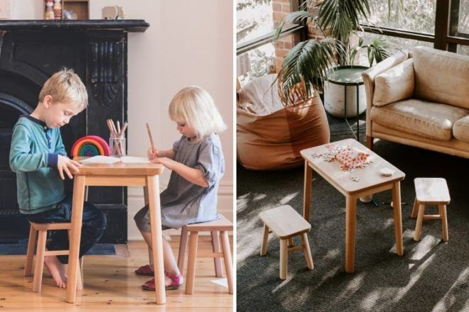 Best Kids Table & Chairs: Plyroom