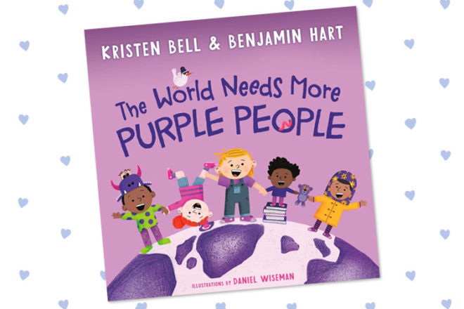 Book Review: The World Needs More Purple People by Kristen Bell | Mum's Grapevine