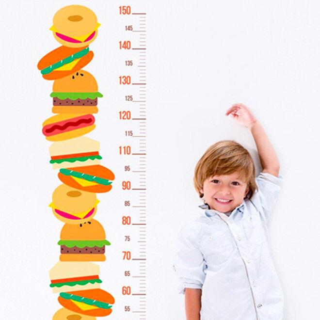 Best Height Chart: Sticker Boy