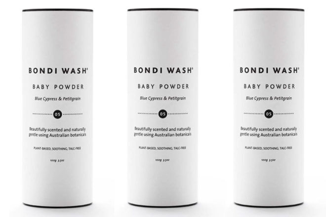 Best Talc Free Baby Powder: Bondi Wash
