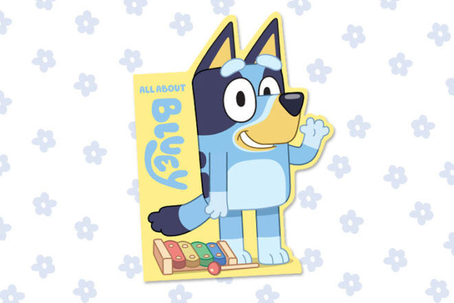 Bluey Book All About Bluey