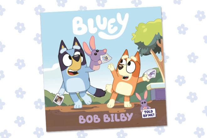 Bluey Book Bob Bilby
