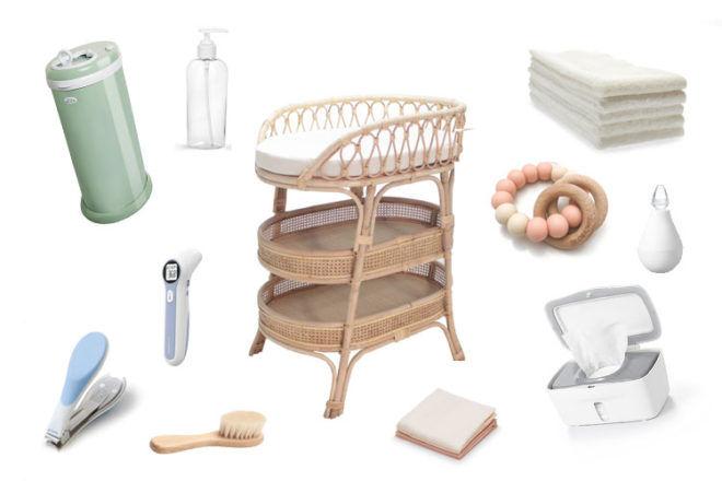 Changing Table Essentials Checklist